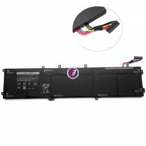 Pin laptop Dell XPS 15 (9560, 9570, 7590). Precision 5520, 5530, 5540. Inspiron 15 (7590, 7591). Vostro 15 (7590). Type 6GTPY (11.4V-97Wh)